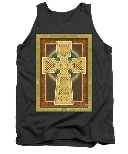 Stylized Celtic Cross Tank Top