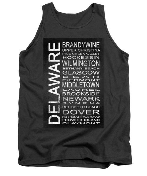 Subway Delaware State 1 Tank Top