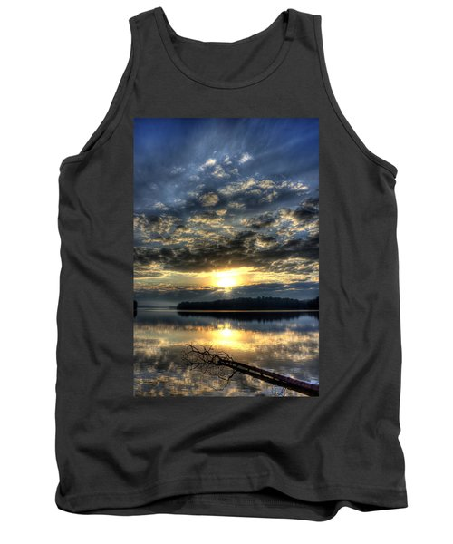 Sunrise Reflections Sugar Creek Sunrise On Lake Oconee Tank Top