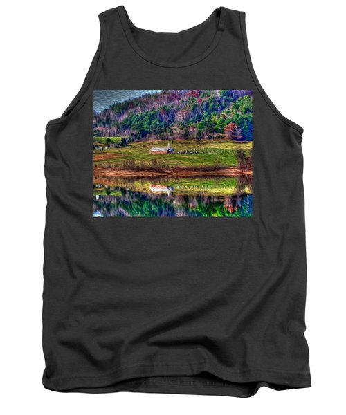 Sugar Grove Reflection Tank Top by Tom Culver