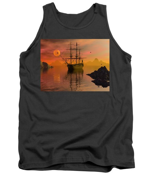 Summer Anchorage Tank Top by Claude McCoy