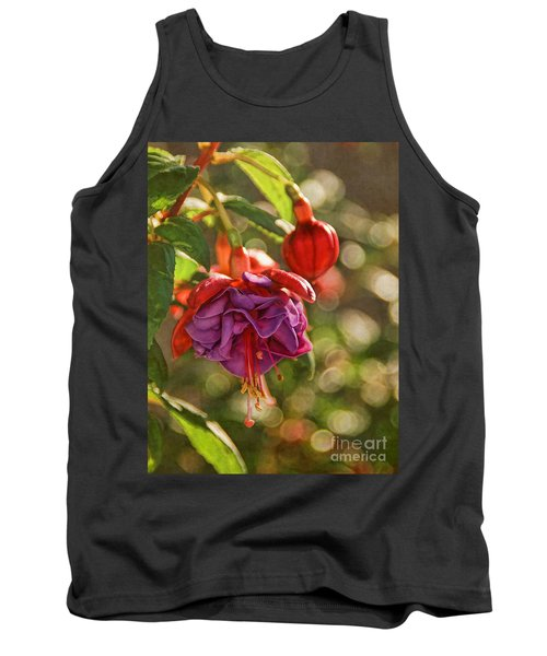 Tank Top featuring the photograph Summer Jewels by Peggy Hughes