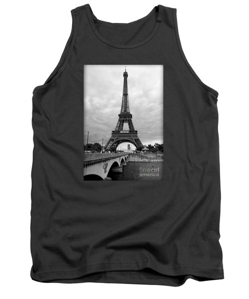 Summer Storm Over The Eiffel Tower Tank Top