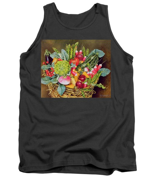 Summer Vegetables Tank Top by EB Watts