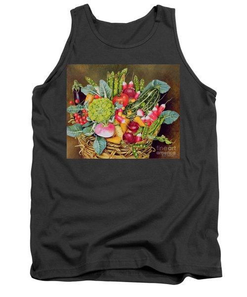 Summer Vegetables Tank Top