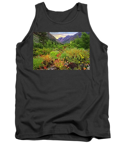Summer Wildflowers In Lundy Canyon Tank Top