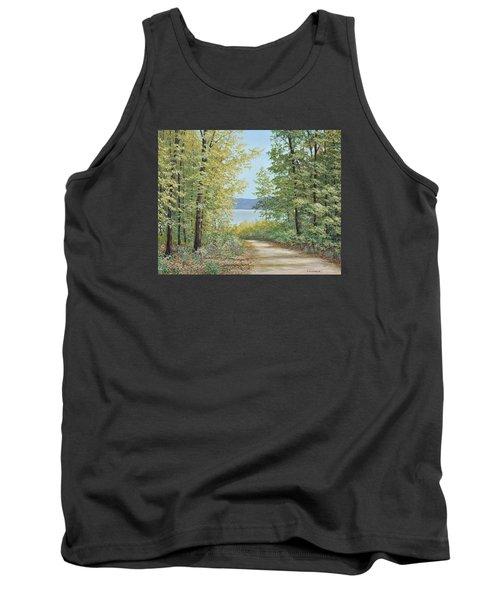Summer Woods Tank Top