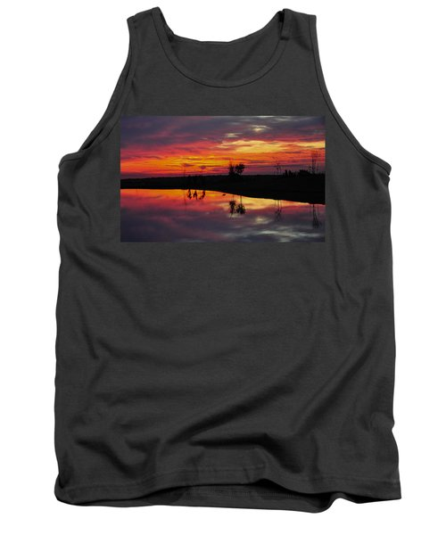Sun Set At Cowen Creek Tank Top