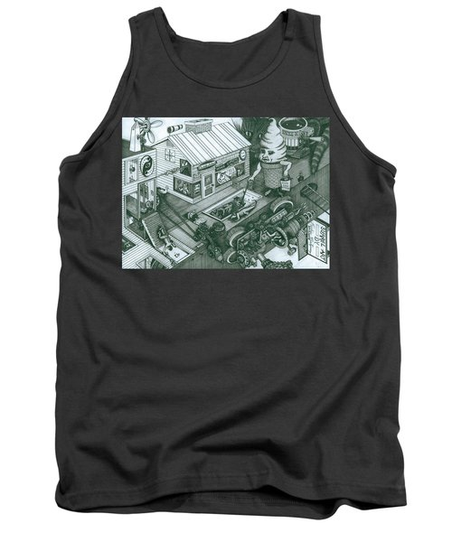 A Sundae In The Park With George Tank Top
