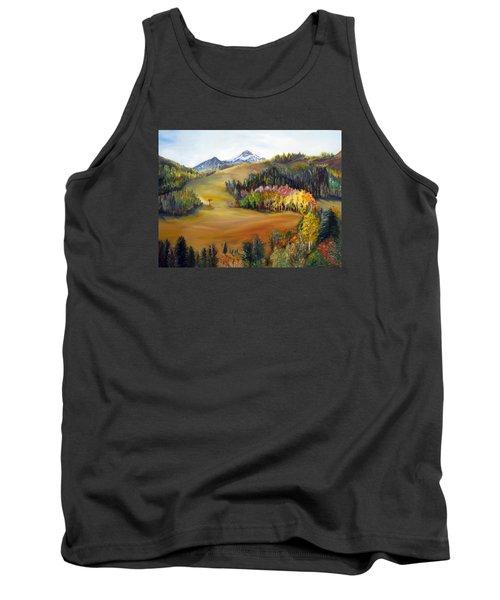 Sundance And Mt. Timpanogos Tank Top