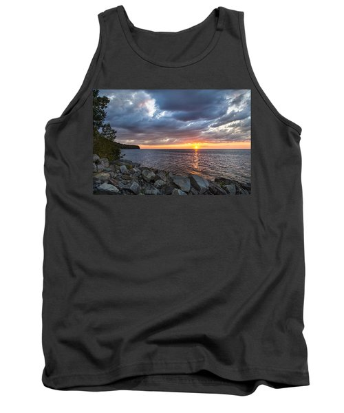 Sundown Bay Tank Top by Bill Pevlor