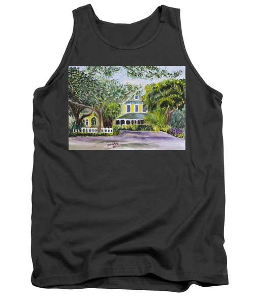 Sundy House In Delray Beach Tank Top by Donna Walsh