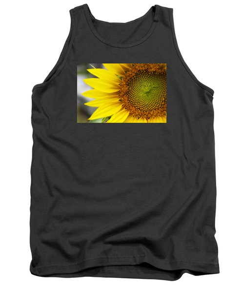 Sunflower Face Tank Top by Shelly Gunderson