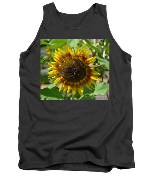 Sunflower Glory Tank Top by Luther Fine Art
