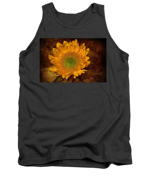 Tank Top featuring the photograph Sunflower Light by Phyllis Denton