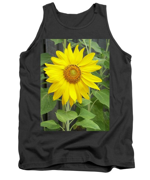 Sunflower Tank Top by Lisa Phillips