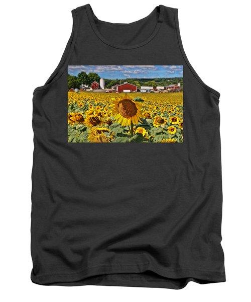 Sunflower Nirvana 21 Tank Top
