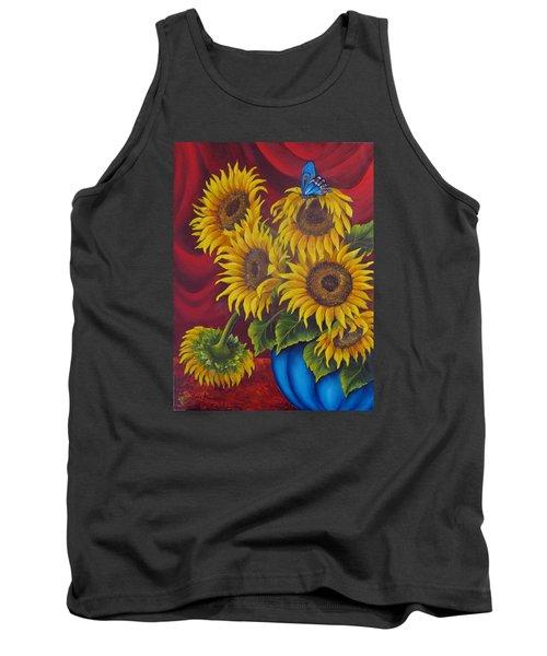 Sunflowers Tank Top by Katia Aho