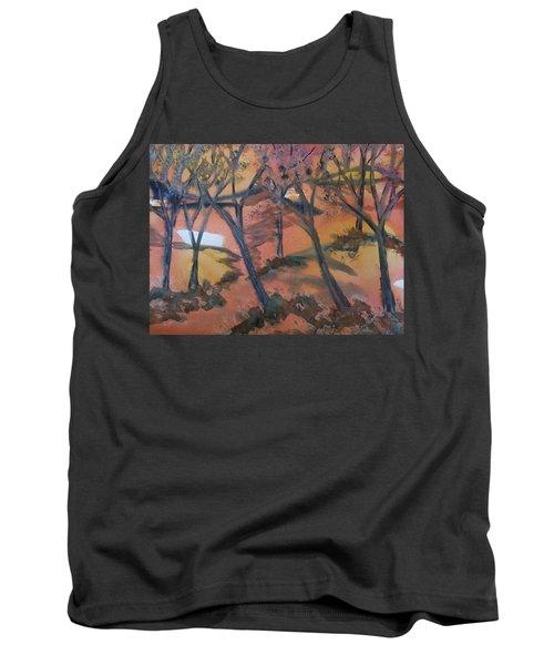 Sunlit Forest Tank Top