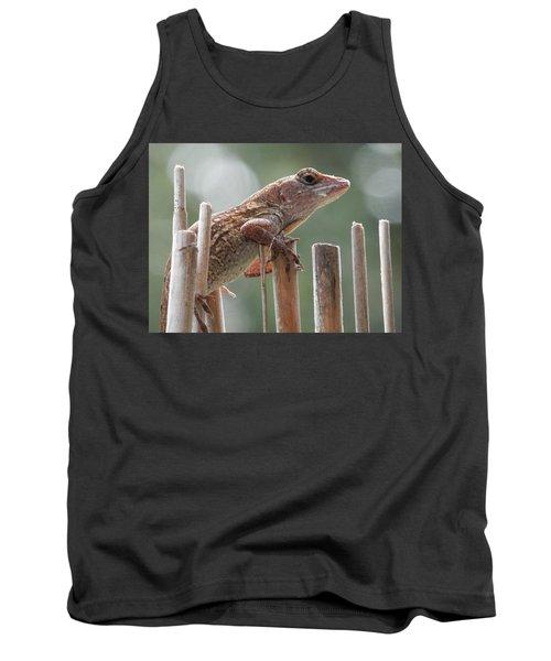 Sunning Lizard Tank Top