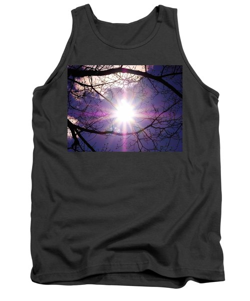 Tank Top featuring the photograph Sunny Afternoon by Sherman Perry