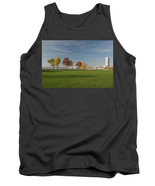 Tank Top featuring the photograph Sunny Autumn Day by Jonah  Anderson
