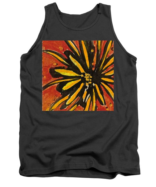 Sunny Hues Watercolor Tank Top by Joan Reese