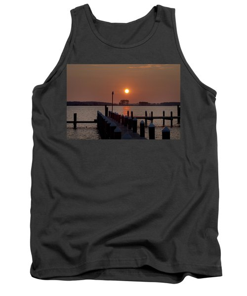 Sunrise At Piney Point Maryland Tank Top