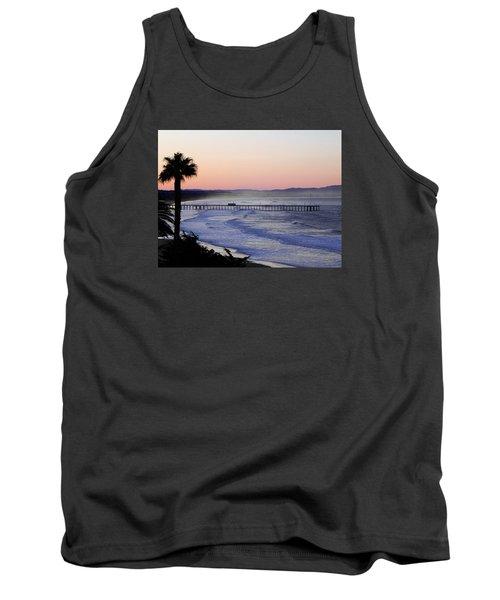 Sunrise At Pismo Beach Tank Top by Kathy Churchman