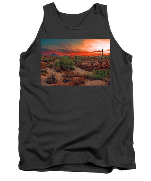 Sunrise Cocktail Tank Top