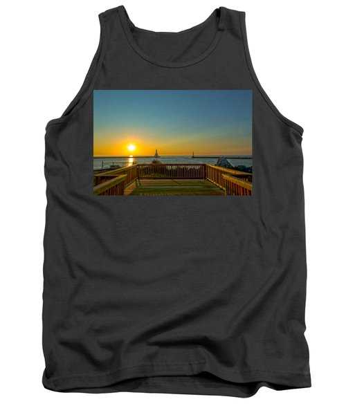 Sunrise Deck Tank Top