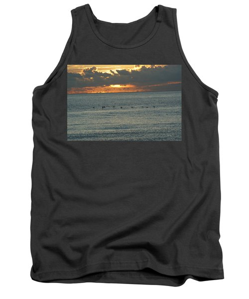 Tank Top featuring the photograph Sunrise In Florida Riviera by Rafael Salazar