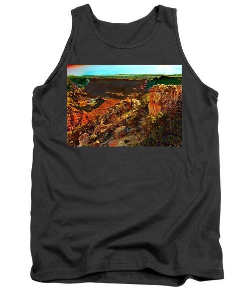 Sunrise Lipan Point Grand Canyon Tank Top by Bob and Nadine Johnston