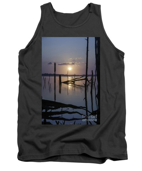Sunrise Over Manasquan Reservoir Tank Top