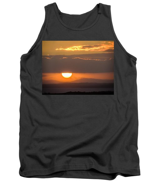Sunrise Over River Shannon Tank Top