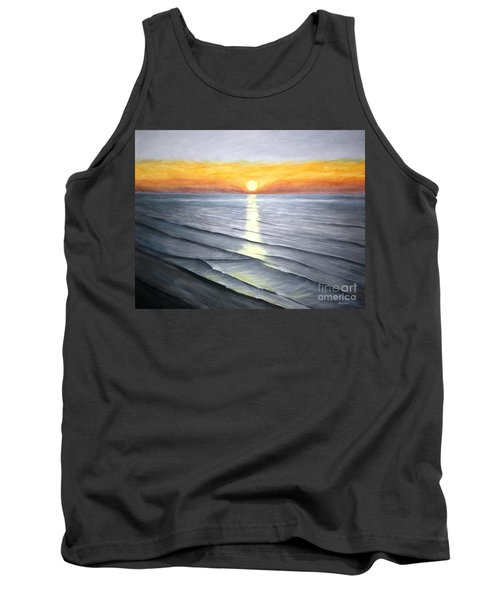 Tank Top featuring the painting Sunrise by Stacy C Bottoms