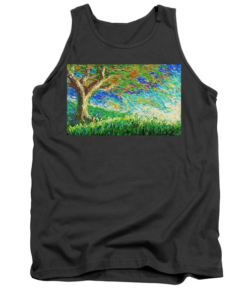 The War Of Wind And Sun Tank Top