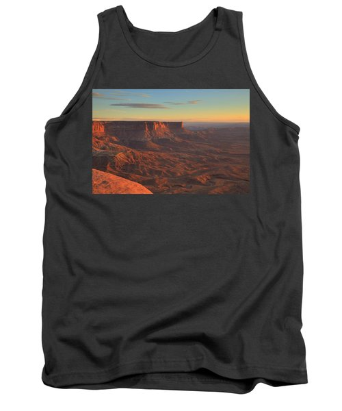 Tank Top featuring the photograph Sunset At Canyonlands by Alan Vance Ley