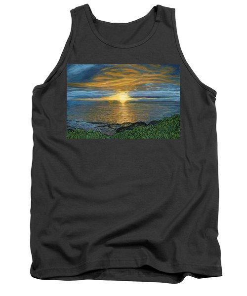 Sunset At Paradise Cove Tank Top