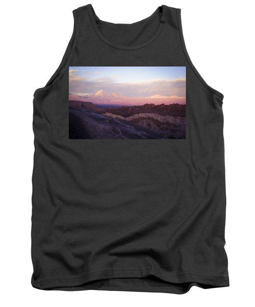 Sunset At The Valley Of The Moon Tank Top by Lana Enderle