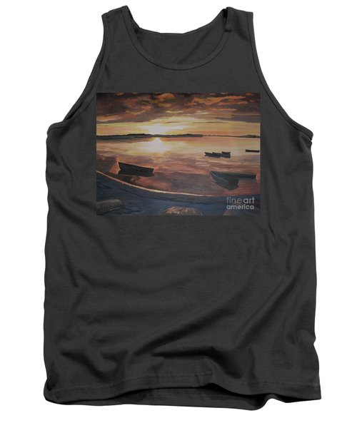 Sunset Evening Tide Tank Top
