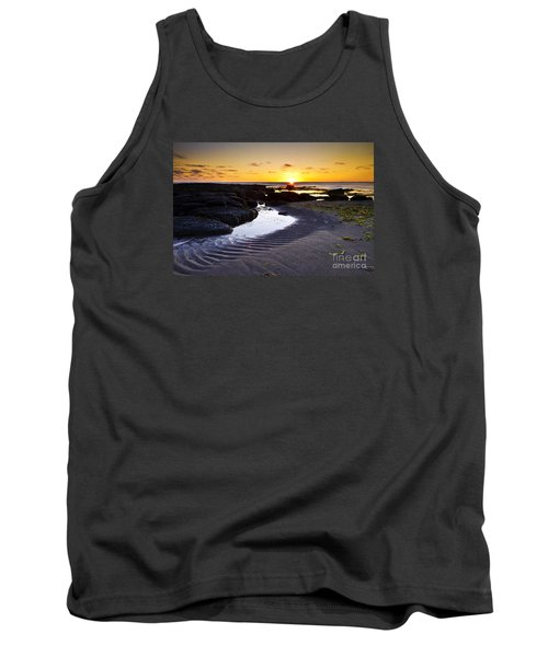 Tank Top featuring the photograph Sunset In Iceland by Gunnar Orn Arnason