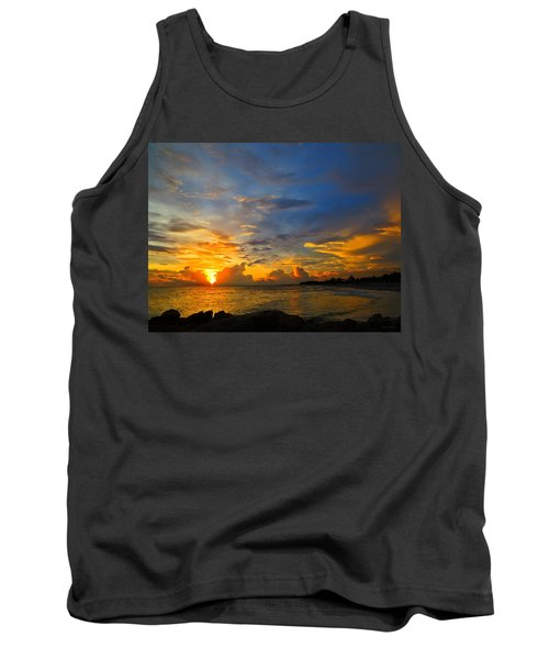 Sunset In Paradise - Beach Photography By Sharon Cummings Tank Top