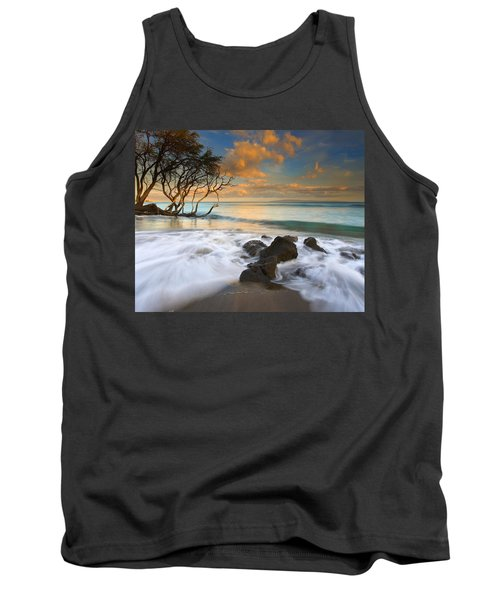 Sunset In Paradise Tank Top by Mike  Dawson