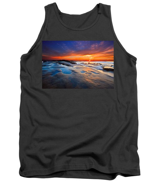 Sunset In San Diego Tank Top
