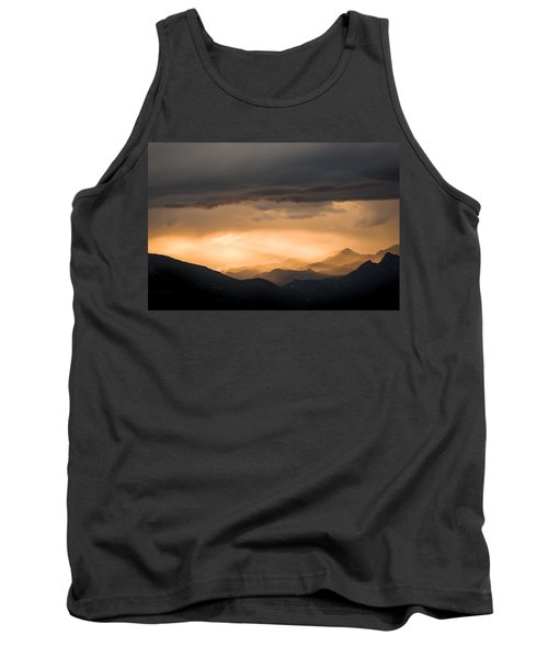Sunset In The Mountains Tank Top