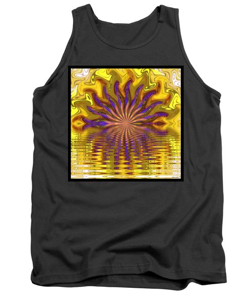 Sunset Of Sorts Tank Top by Elizabeth McTaggart