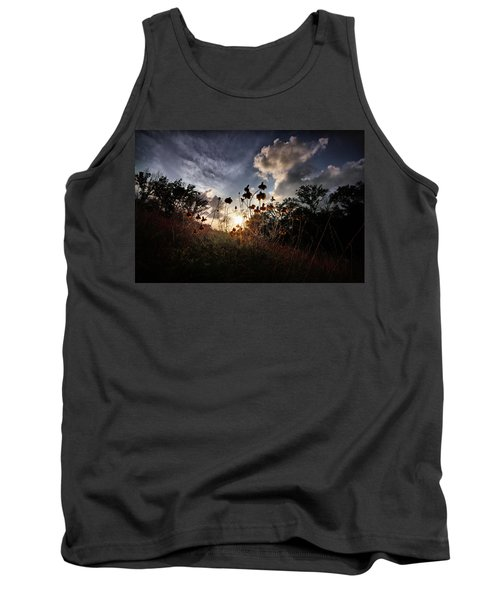 Sunset On Daisy Tank Top