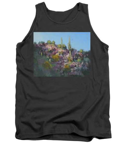 Sunset On Hawk Ridge Tank Top