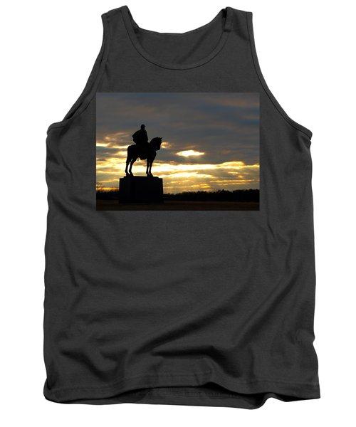 Sunset On The Battlefield Tank Top